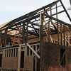 Newburyport :  Home at 3-5 Pine Street in Newburyport being rebuilt last fall> Jim Vaiknoras/staff photo