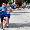 Newburyport:Runners in The seventh annual Spring Fever 5K  head down  Merrimack Street Sunday. Jim Vaiknoras/staff photo