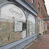 newburyport: Renovations continue at the Book Rack on State Street in Newburyport. Jim Vaiknoras/staff photo