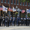 Newburyport: he Newburyport Police Color Guard leads the annual Newburyport Memorial Day Parade. Jim Vaiknoras/staff photo