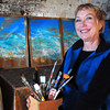 Amesbury: Amesbury artist Edith Heyck opens her studio once again for the tour. Bryan Eaton/Staff Photo