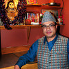 Newburyport: Ram Kadariya of Mr. India restaurant is an immigrant from Nepal. Bryan Eaton/Staff Photo
