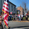 Newburyport: Cub Scouts and Brownies were also part of Newburyport's Veteran's Day Parade here approaching Brown Square for ceremonies. Bryan Eaton/Staff Photo