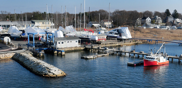 Salisbury: Bridge Marina, which abuts Striper's Restaurant, in Salisbury has been sold. Bryan Eaton/Staff Photo
