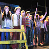 Newburyport: The cast of Hair at Newburyport High in dress rehearsal for the opening show on Friday night. Bryan Eaton/Staff Photo