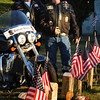 Newburyport: Local veterans Frank Peluse, left, and Fred Hardy are members of Patriot Riders who try to help military veterans and their families. Bryan Eaton/Staff Photo