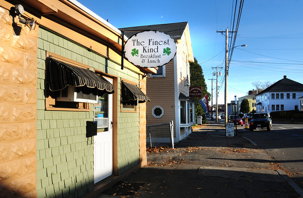 Newburyport: The Finest Kind has been a fixture on Merrimac Street in Newburyport for decades. Bryan Eaton/Staff Photo