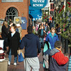 "Newburyport: The weather was ideal for shoppers in downtown Newburyport yesterday so-called ""Black Friday"" one of the biggest Christmas shopping days of the year. Bryan Eaton/Staff Photo"