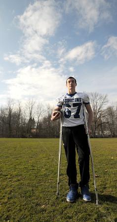 Georgetown: Georgetown football player Tom Coye struggled with Colitis last year. JIm Vaiknoras/staff photo