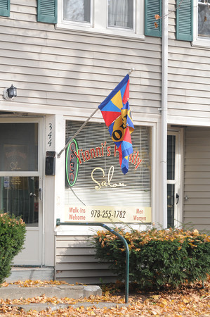 Newburyport: Yianni's Family Salon in Newburyport. Jim Vaiknoras/staff photo