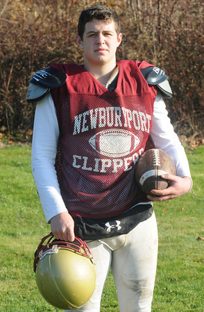 Newburyport: Newburyport high quarterback Connor Wile. Jim Vaiknoras/staff photo