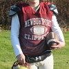 Newburyport: Newburyport high quarterback Connor Wile. Jim Vaiknoras/staff photo