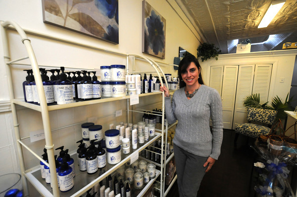 Newburyport: Beverly Buccheri at BC Essentials in Newburyport. Jim Vaiknoras/staff photo