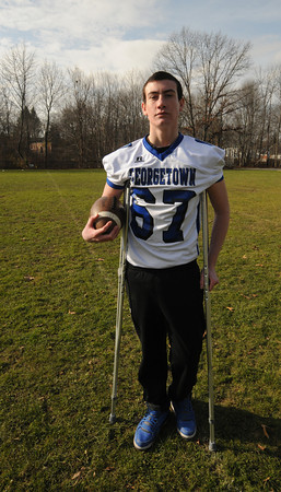 Georgetown: Georgetown football player Tom Coye struggled with Colitis last year. JIm Vaiknoras/staff photo