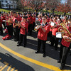Amesbury: The Amesbury high school band perform at the city's annual Veteran's Day service at the Doughboy statue in Amesbury for . Jim Vaiknoras/staff photo