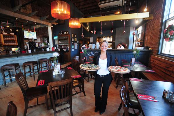 Newburyport: Sarah Cobb manager at Oregano in Newburyport. Jim Vaiknoras/staff photo
