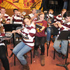 Newburyport: The Newburyport high school band performs at Color Day at Newburyport high Wednesday. Jim Vaiknoras/staff photo