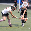 Amesbury: Newburyport's Meghan Stanton advances the  ball during the Clippers game against Wayland at Amesbury Sports Park Thursday night. JIm Vaiknoras/staff photo