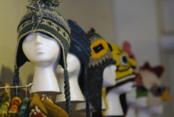 newburyport: Hats at Yarina in Newburyport. Jim Vaiknoras/staff photo