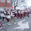 Newburyport: The Newburyport band march in the annual parade and tree lighting in Market Square in Newburyport Sunday. Jim Vaiknoras/staff photo