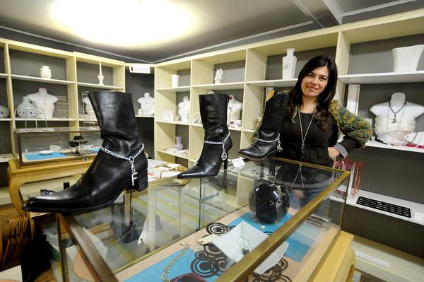 Georgetown. Lisa Scala at her Georgetown Store. Jim Vaiknoras/staff photo