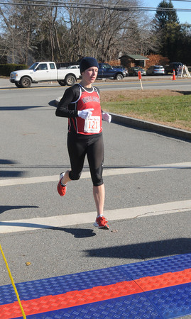 Salisbury: Timmy Trot woman's winner Heather Searles. Jim Vaiknoras/staff photo