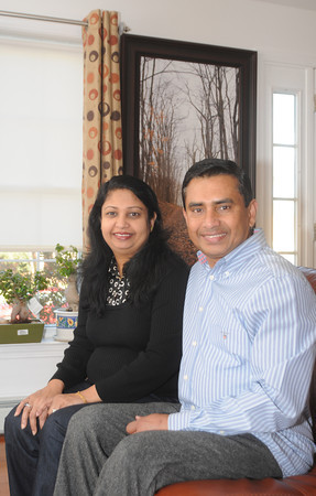 Seabrook: Aboul Khan and his wife Nanni, Aboul, who was born in Bangladesh, immigrated to U.S., now lives in Seabrook with his family, four years ago elected selectman and on Nov. 6 was elected to the NH House of Representatives. Jim Vaiknoras/staff photo