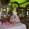 Newburyport: Breast cancer display at the Institution for Savings in Newburyport. Jim Vaiknoras/staff photo