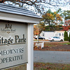 Salisbury: An article on last night's Salisbury Town meeting warrant asks citizens to approve a measure asking the legislature to consider mobile homes like these as affordable housing as it relates to Chapter 40B which allows developers to bypass some zoning and other bylaws. Bryan Eaton/Staff Photo