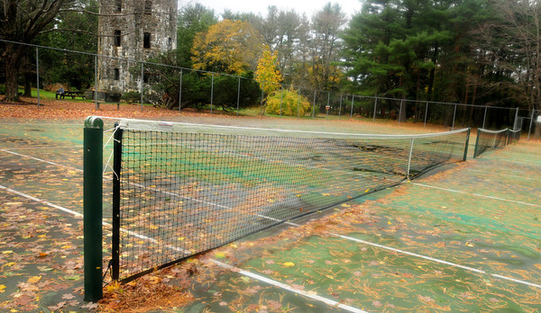 Newburyport: Newburyport receives grant money to repair deteriorating tennis courts at Atkinson Common. Bryan Eaton/Staff Photo