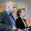 Newburyport: James Vosolo appears in Newburyport District Court yesterday. Bryan Eaton/Staff Photo