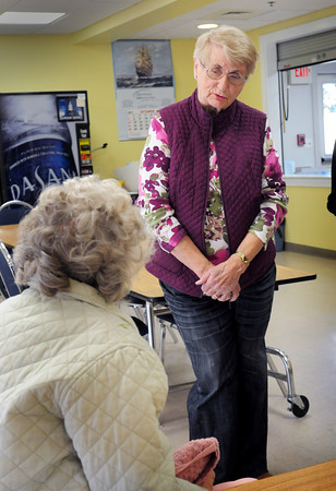 Merrimac: Eileen Stepanian, public health nurse in Merrimac. Bryan Eaton/Staff Photo