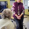 Merrimac: Eileen Stepanian, public health nurse in Merrimac. Bryan Eaton/Staff Photo