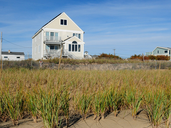 Newbury: 58 Northern Boulevard on Plum Island seen from the ocean side. Bryan Eaton/Staff Photo