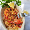 Newburyport: Lobster Baked with Cracker Crumbs. Bryan Eaton/Staff Photo