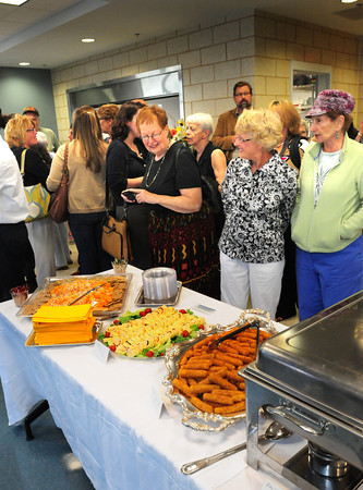 Amesbury: Dozens showed up at the new Amesbury Senior Center on Monday afternoon for an Appreciation Gala for all the donors and supporters who assisted in the Capital Campaign. Bryan Eaton/Staff Photo