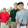 Haverhill: Pentucket High School golf captains C.J. Ingraham, Michael Lincoln and Chris Gilman. Bryan Eaton/Staff Photo