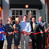 Newburyport: State Treasurer Steven Grossmand attended the grand opening of the Orange Leaf yogurt shop in Newburyport's Market Square. From left, Ann Ormond, president of the Greater Newburyport Chamber of Commerce and Industry; Janice Morse, president and CEO of the Newburyport Bank; owners Nancy Angell and David PIerre; state representative Michael Costello and Newburyport Mayor Donna Holaday.