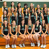 West Newbury: The Pentucket High School football cheerleaders. Bryan Eaton/Staff Photo