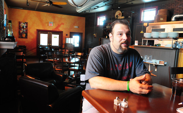 Amesbury: Crave owner Josh Jordan talks about his reasons for selling his popular restaurant in downtown Amesbury. Bryan Eaton/Staff Photo