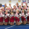 Amesbury: Amesbury High School football cheerleaders. Bryan Eaton/Staff Photo
