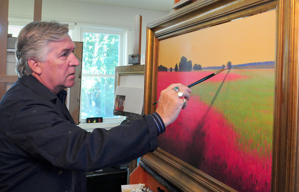 Newburyport: Artist Robert Scott Jackson. Bryan Eaton/Staff Photo