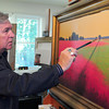 Newburyport: Artist Robert Scott Jackson. Bryan Eaton/Staff Photo