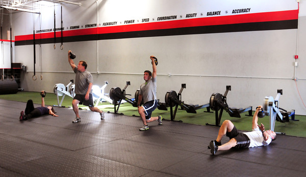 Crossfit Full Potential gym on Perkins Way in Newburyport. Bryan Eaton/Staff Photo