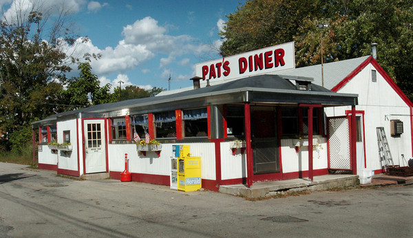 "Salisbury: Pat's Diner, formerly Ann's Diner, in Salisbury Square was the scene of some movie making last week of a documentary on James ""Whitey"" Bulger. Bryan Eaton/Staff Photo"