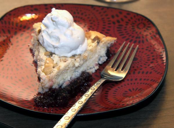 Newburyport: Suzanne DeWitt's Newburyport Cranberry Pie. Jim Vaiknoras/staff photo