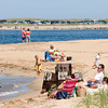 Newburyport: Fishermen and beach goers on Plum Island Point in Newburyport enjoy great weather over the weekend. Jim Vaiknoras/staff photo