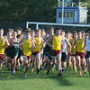 Byfield: Runners take off in the quad cross country meet at Triton Wednesday . Jim Vaiknotas/staff photo