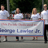 Newburyport: This year's Yankee Homecoming Parade was dedicated to the late George Lawler, Jr. who served in several civic capacities including mayor in the mid-1960's. Jim Vaiknoras/Staff Photo
