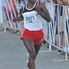 newburyport: Woman's winner Meseret Kitata in the Yankee Homecoming 10 mile race Tuesday night. Jim Vaiknoras/staff photo